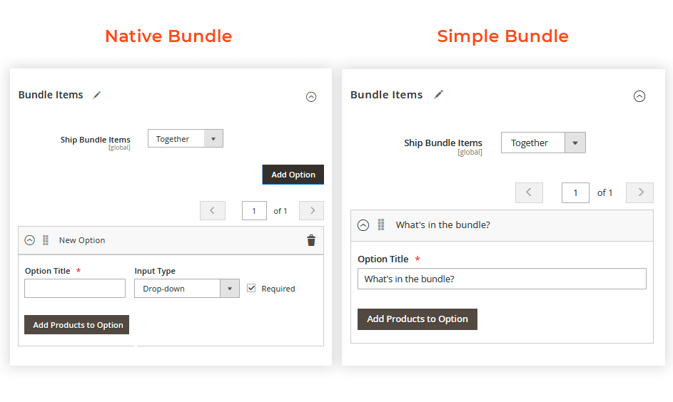 Simple Bundle Mode