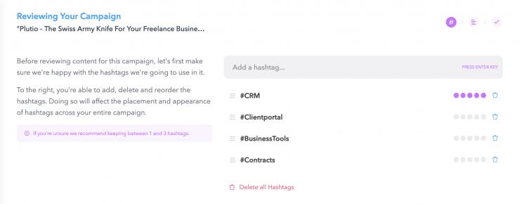 Campaign Hashtags
