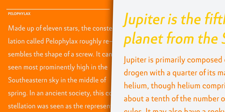 Text Typeface