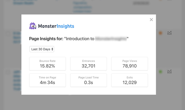Page Insights Reports