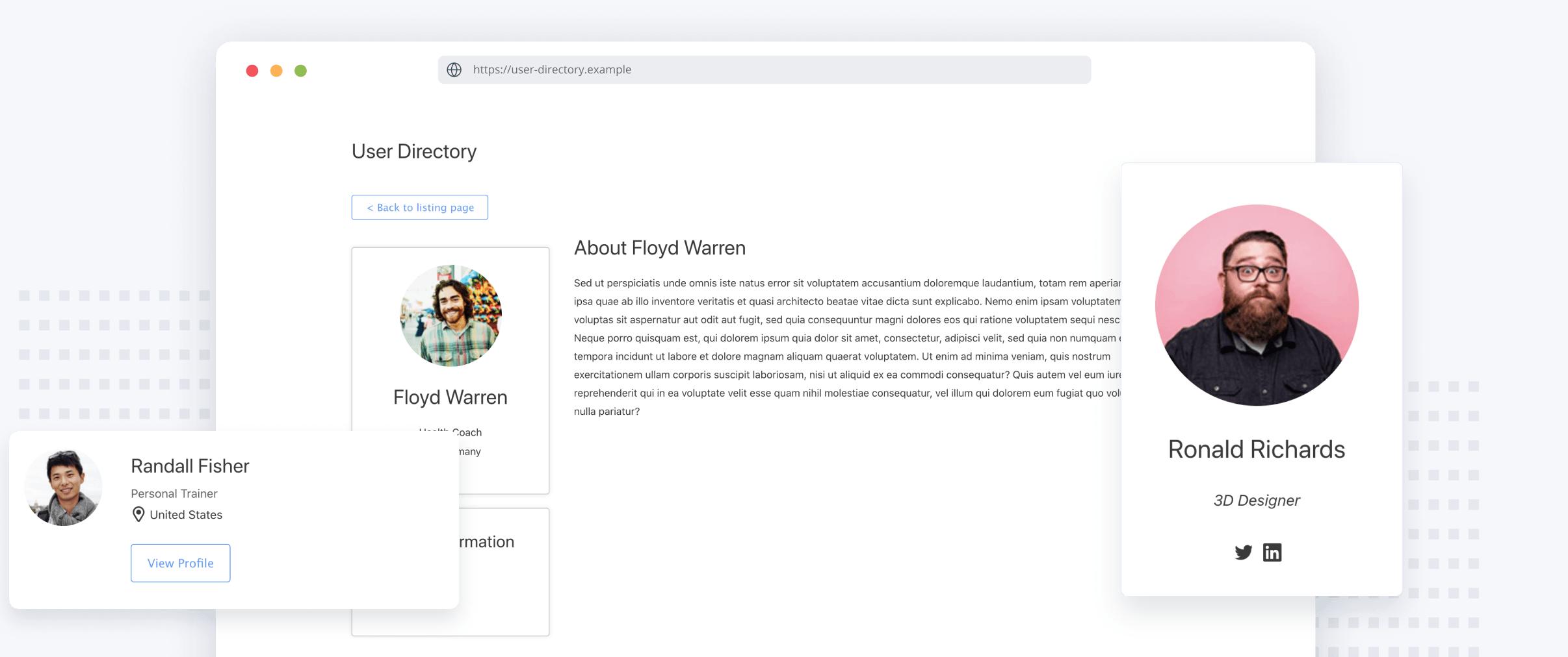 User Directory