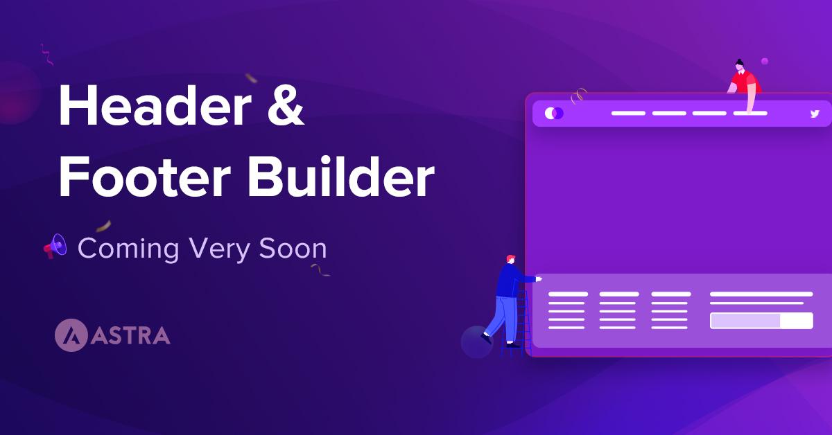 Header Footer Builder