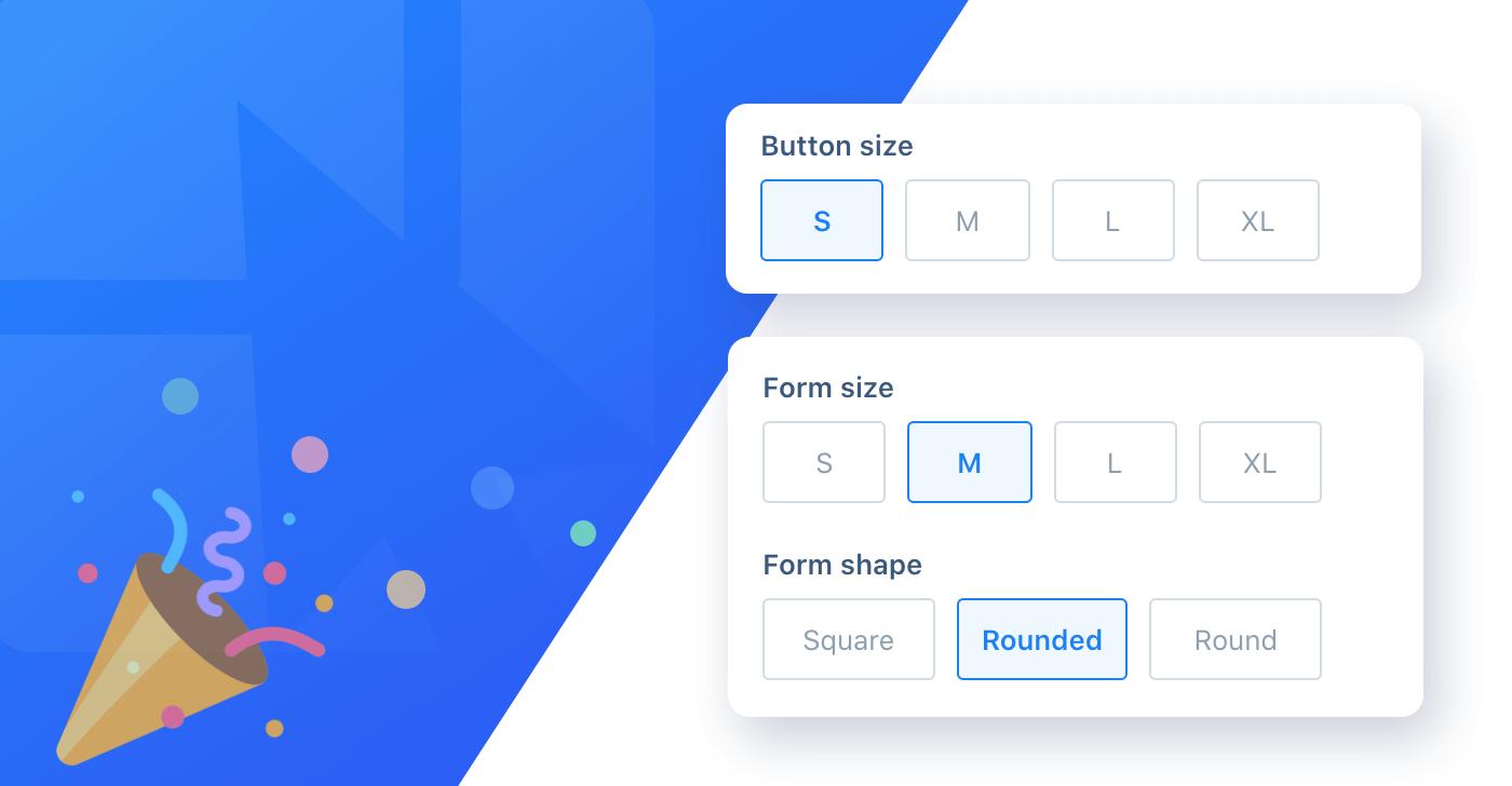 Form Element Sizes
