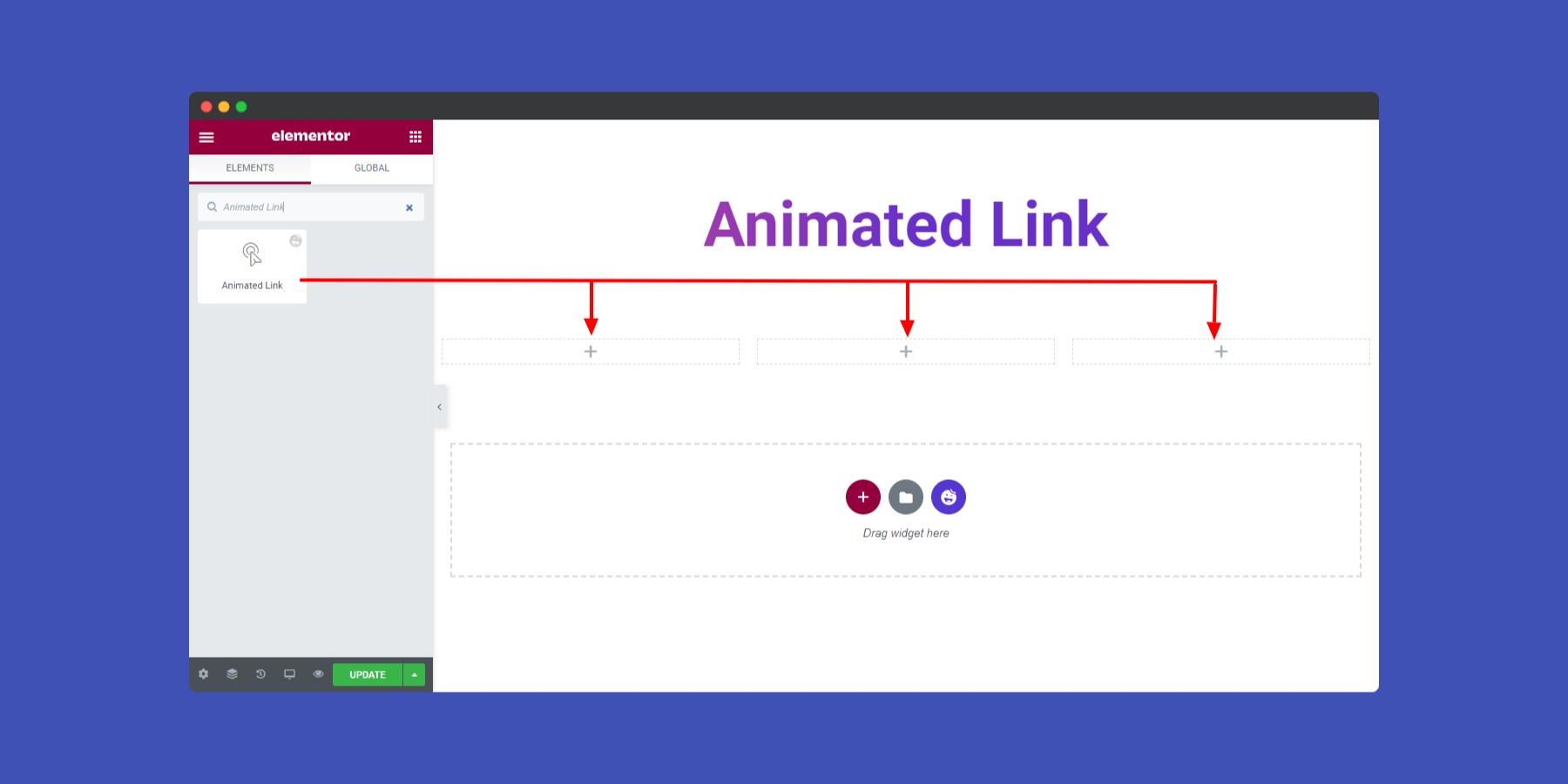 Animated Links